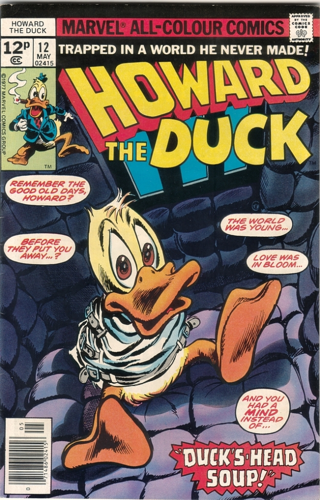 Personaje de comic - Página 2 Howardduck12cover