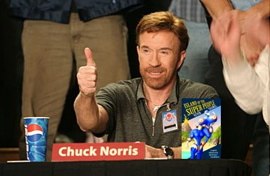 Best Photoshopped Celebrity Endorsement Of Island Of The Super People Ispchucknorris