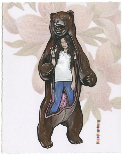 Miley Cyrus Bear