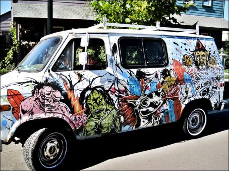 Skinner's old van