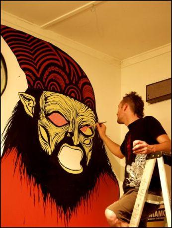 wizard mural Skinner