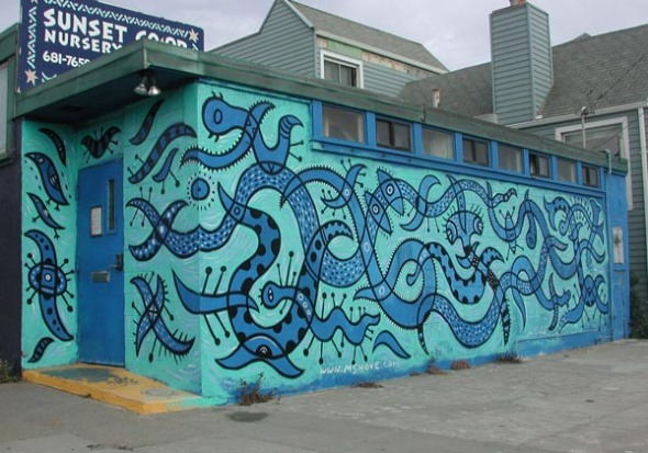 scott hove painting mural