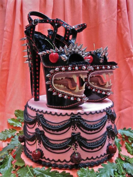 scott hove shoe cake