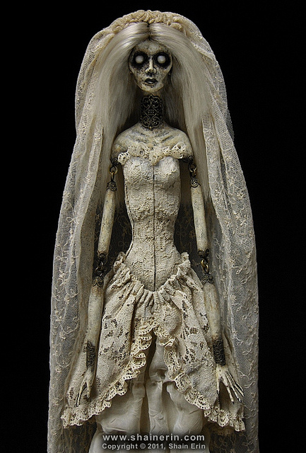 shain erin jointed bride doll
