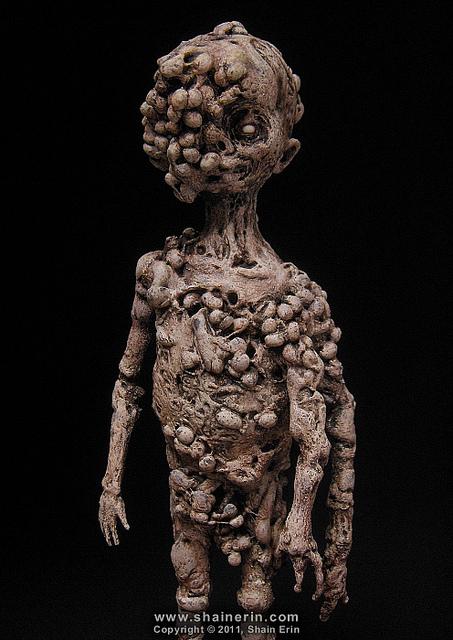 shain erin the fallen (figure of a child)