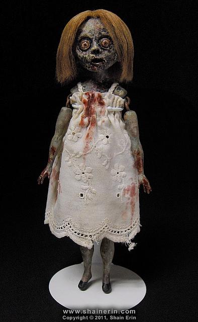 shain erin zombie doll