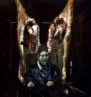 Francis Bacon - Figure with Meat (1954)