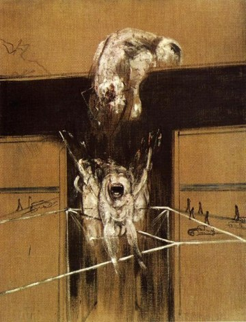 Francis Bacon - Fragment of a Crucifixion (1950)