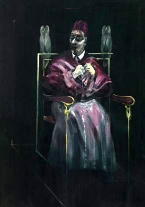 Francis Bacon - Pope with Owls