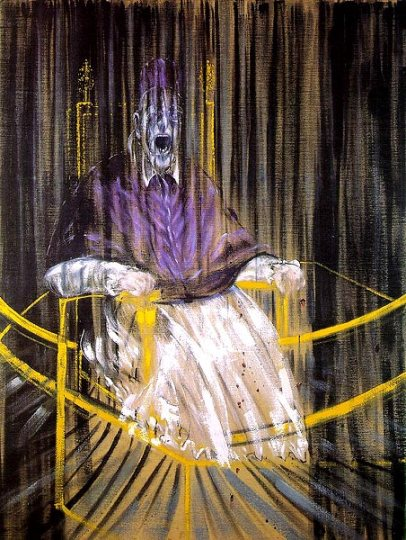 Francis Bacon - Study after Velázquez's Portrait of Pope Innocent X