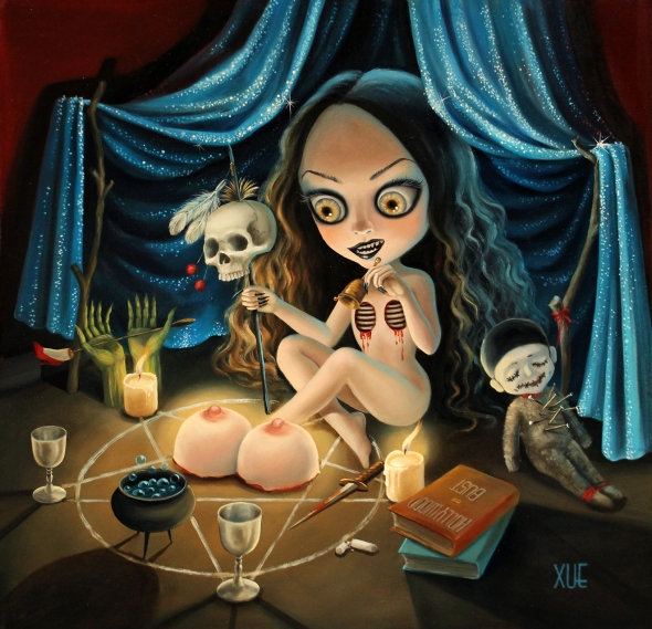 I PUT A SPELL ON YOU xue wang