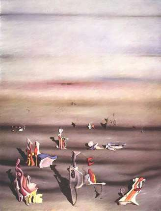 furniture of time by yves tanguy