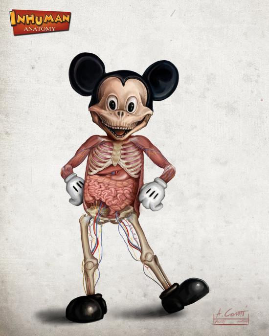 mickey_s_anatomy_by_alessandroconti-d5swnqz-550x687