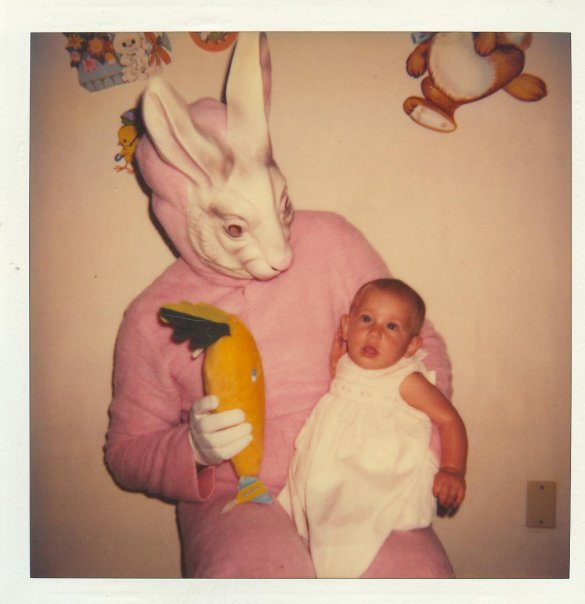 Scary Easter Bunny Old