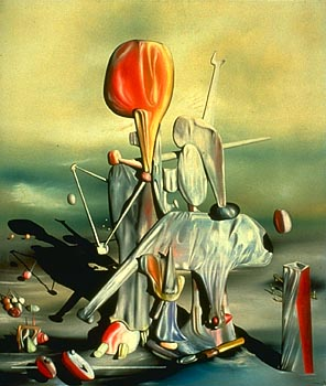 through birds through fire but not through glass by yves tanguy