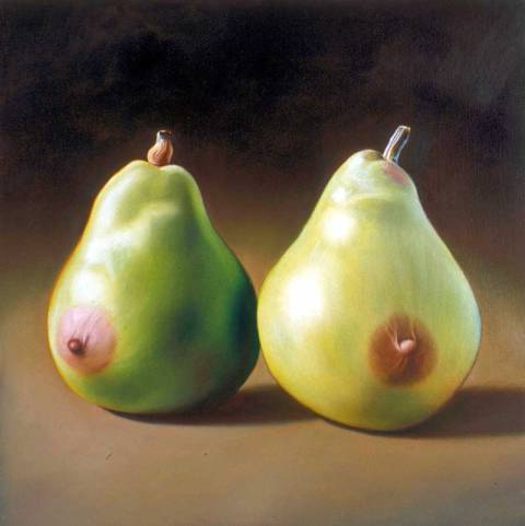 pair of pears ron english