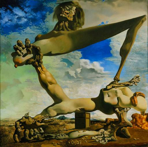 Salvador-Dali-Soft-Construction-with-Boiled-Beans-Premonition-of-Civil-War-1936