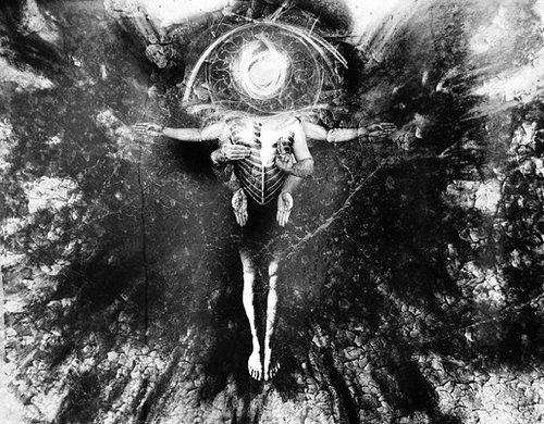 representation of Abraxas, gnostic deity