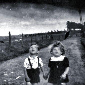 blurred creepy kids