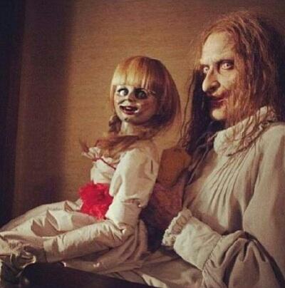 creepy horror doll