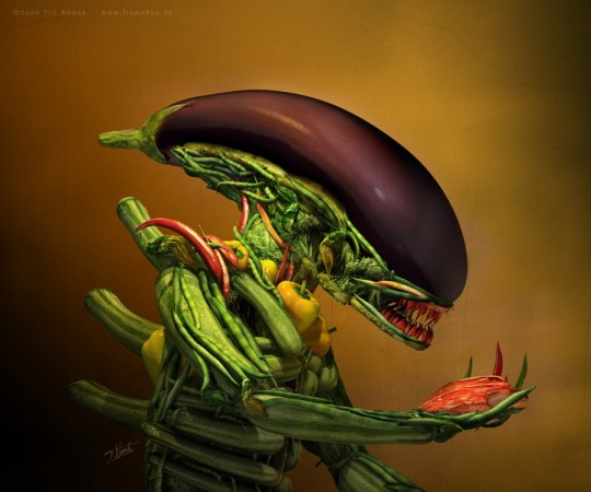 veggie predator
