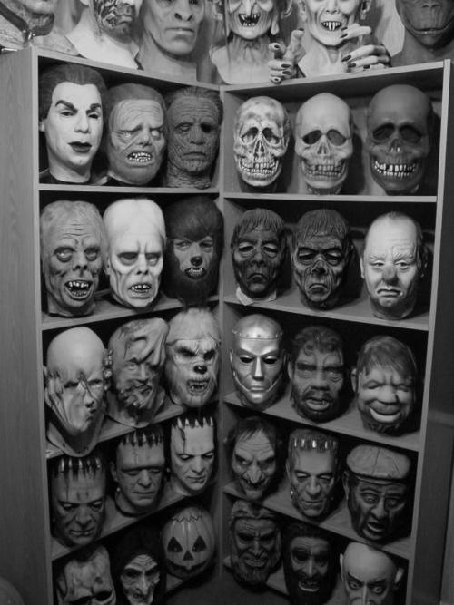 vintage rubber masks