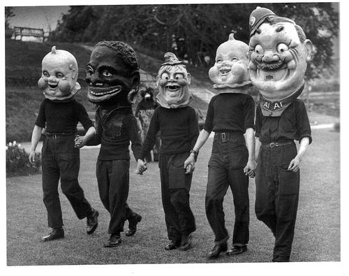 big creepy masks