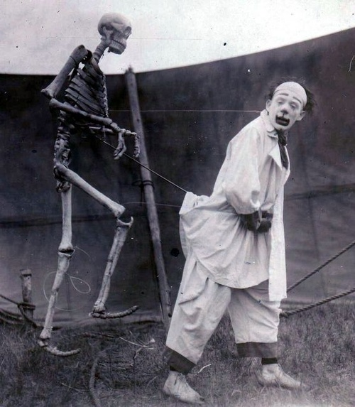 clown skeleton