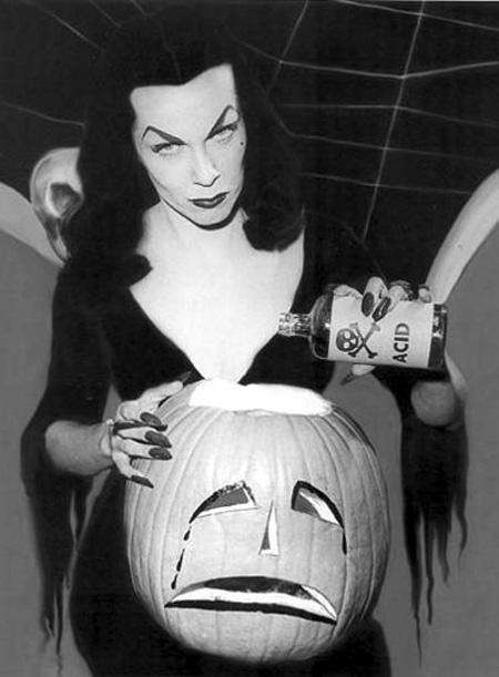 vampira pumpkin