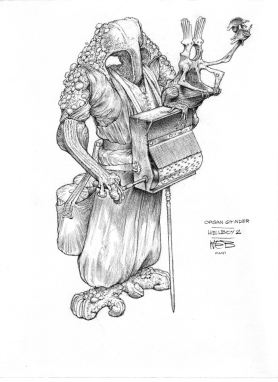 Organ Grinder, concept study for Hellboy 2