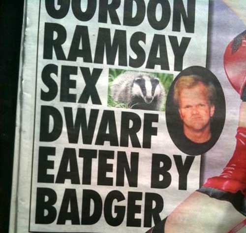 Gordon-Ramsay-sex-dwarf-eaten-by-badger