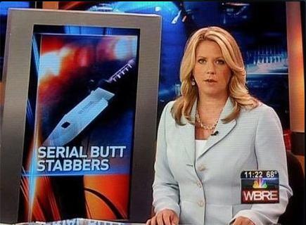 butt stabbing
