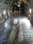 Hotel airplane interior